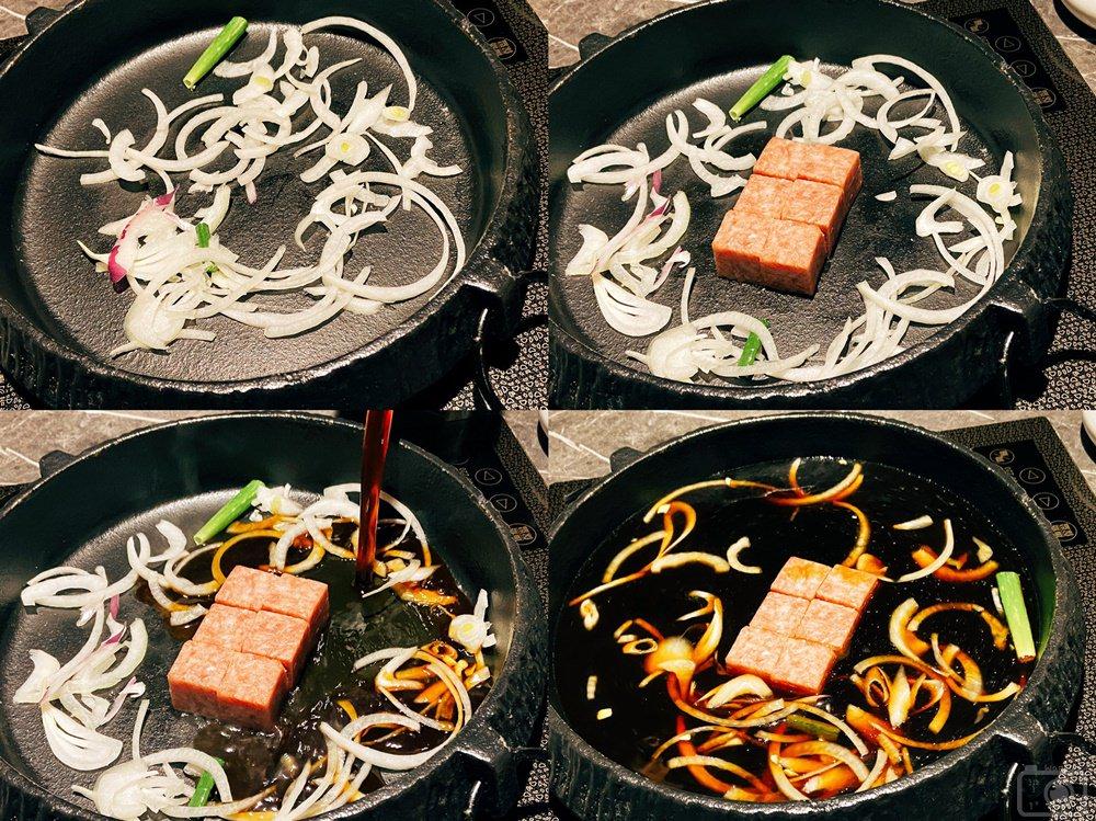 壽喜燒一丁鍋底