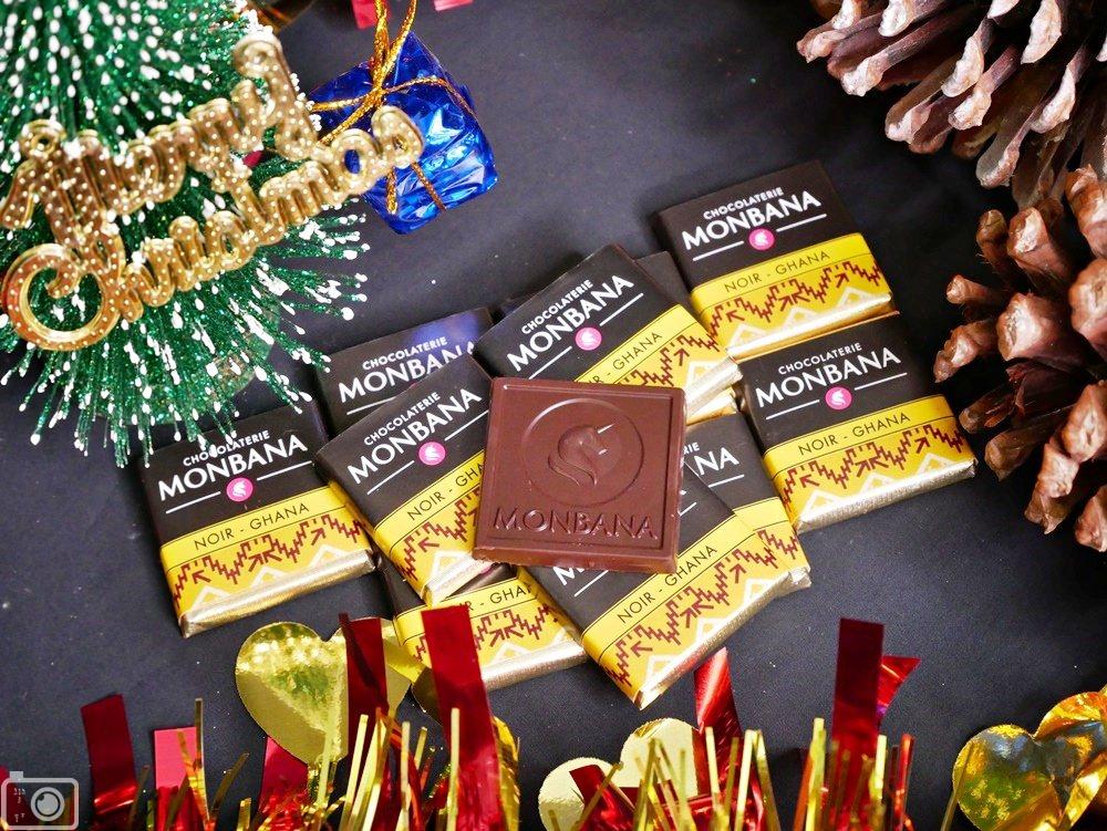 MONBANA迦納黑巧克力片